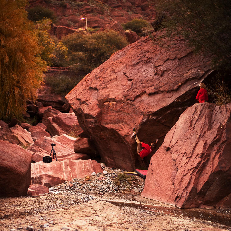 Brealito – Stille zwischen den ersten harten Bouldern. Altiplano 2017 – Kapitel 5 (23.04. – 27.04.)