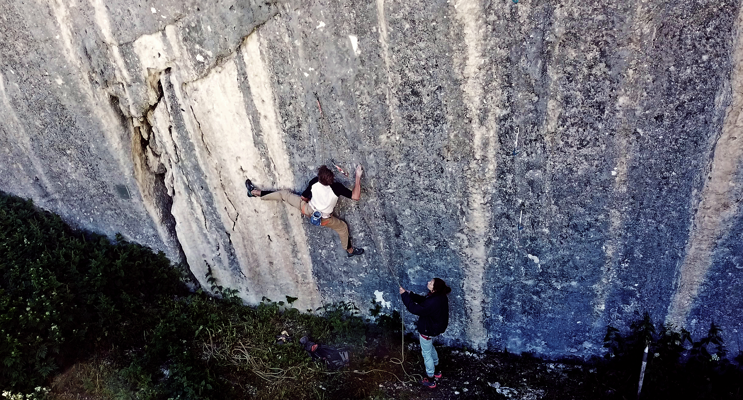 The art of self handicapping – A log book of the hardest ascent in my life: La Barrière (9b) in Jansegg.